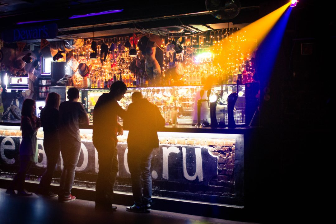 Low attendance night club
