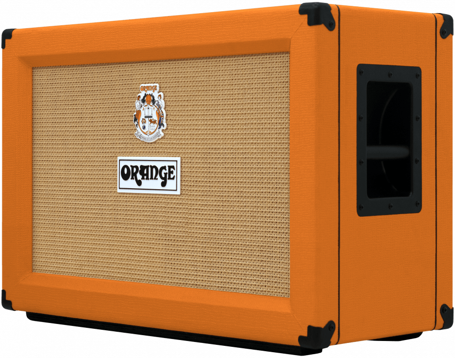 Downsize to Orange 2x12 Guitar Cabinet